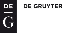 De Gruyter logo