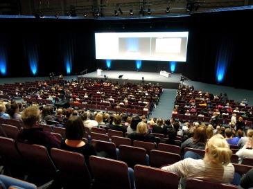 Audience in auditorium